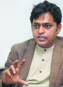 NEW DELHI, 29/01/2010: Metro Plus, Author Irfan Ahmad during an interview in New Delhi on January 29, 2010. Photo: V.V.Krishnan.